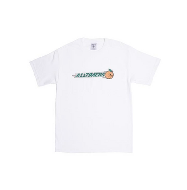 ALLTIMERS Mad Tee White