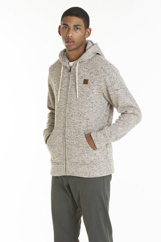 OBEY CONWAY ZIP HOOD CREAM-The Collateral