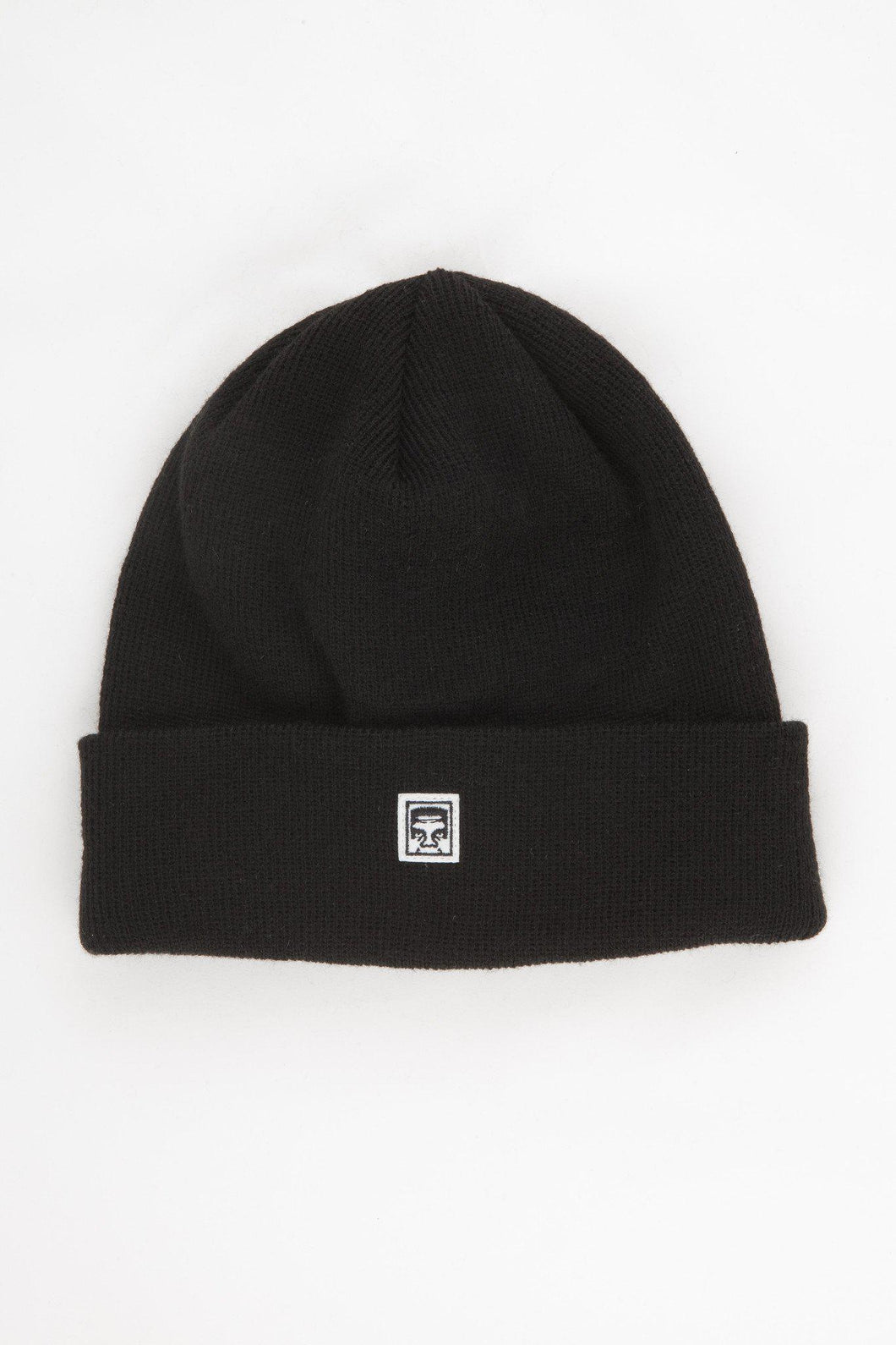 OBEY EIGHTY NINE BEANIE BLACK-The Collateral