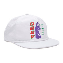 OBEY EL MAGICO SNAPBACK // WHITE-The Collateral