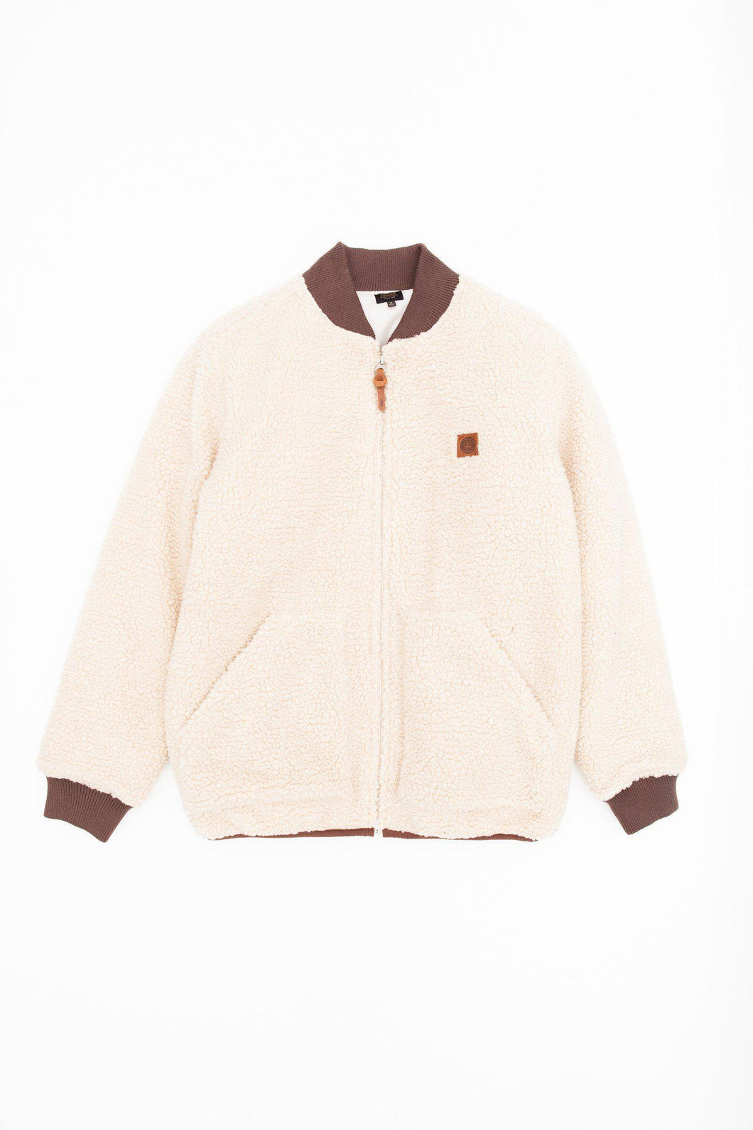 OBEY FREEWAY JACKET CREAM-The Collateral