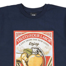 OBEY FRUITS OF OUR LABOR TEE // NAVY-The Collateral