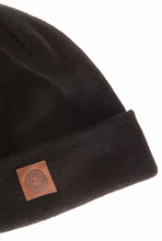 OBEY JOBBER MONOGRAM BEANIE BLACK-The Collateral