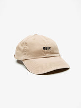 OBEY JUMBLE BAR HAT // KHAKI-The Collateral
