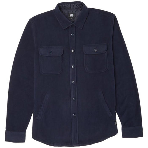 OBEY LAFAYETTE L/S SHIRT // DARK NAVY-The Collateral