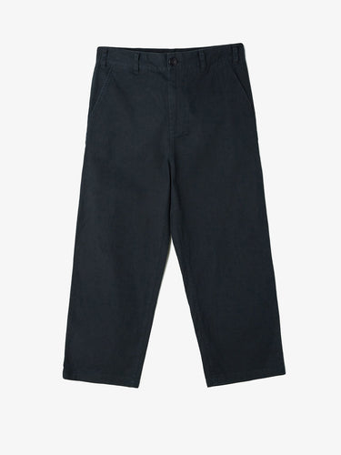 OBEY LOITER BIG FITS PANTS // BLACK-The Collateral