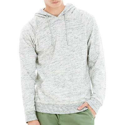 OBEY MONUMENT TERRY PULLOVER HOOD // HEATHER OATMEAL-The Collateral