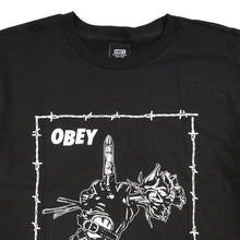 OBEY NO THANK YOU! TEE // BLACK-The Collateral