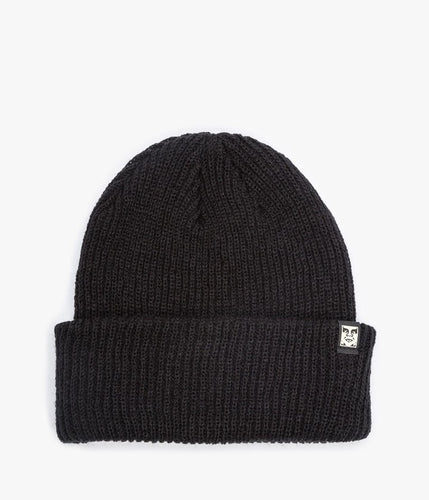 OBEY RUGER BEANIE // BLACK