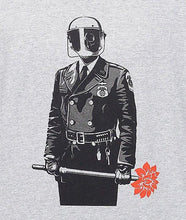 OBEY SADISTIC FLORIST TEE // HEATHER GREY-The Collateral
