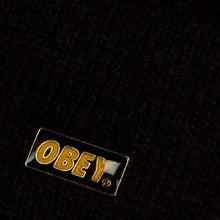OBEY SURPLUS BEANIE // BLACK-The Collateral