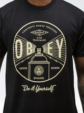 OBEY UNDER PRESSURE TEE // BLACK-The Collateral