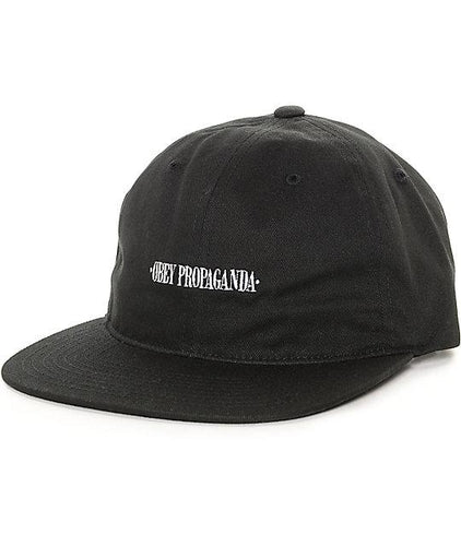OBEY WESTWOOD HAT // BLACK-The Collateral