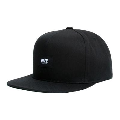 OBEY WORLDWIDE SNAPBACK // BLACK-The Collateral