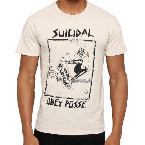 OBEY X SUICIDAL TENDENCIES POOL SKATER // FOG