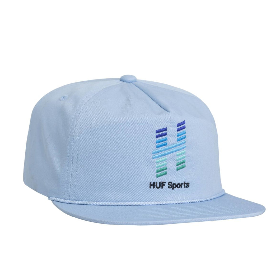 HUF NETWORK SNAPBACK HAT // LIGHT BLUE