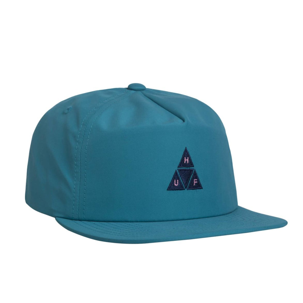 HUF NYLON TRIPLE TRIANGLE SNAPBACK // AQUA
