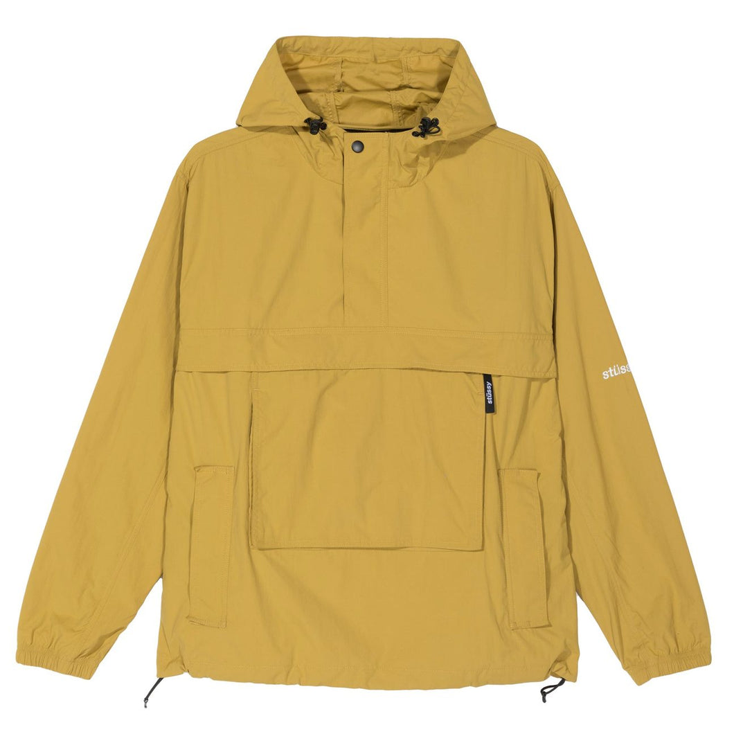 STÜSSY PACKABLE ANORAK // MUSTARD