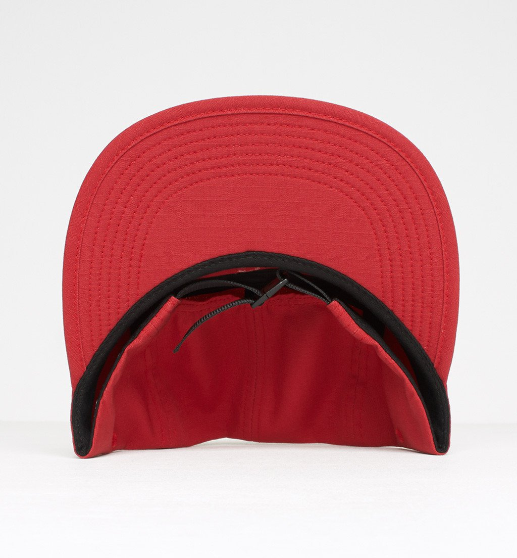 7c8fc7a866f2d ... PARRA 5 PANEL VOLLEY HAT PARRA SIGNATURE    RED RIPSTOP-The Collateral  ...