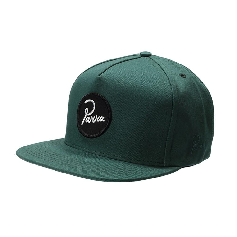 PARRA CIRCLE LOGO SNAPBACK // FORREST GREEN-The Collateral
