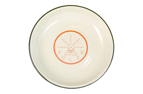 POLER GOLDEN CIRCLE ENAMEL PLATE-The Collateral