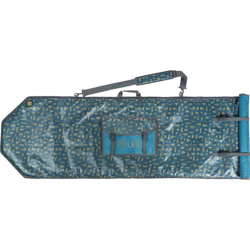 POLER HIGH AND DRY SURFBOARD BAG // OCEAN MUSHY TREES-The Collateral
