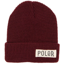POLER WORKERMAN BEANIE // BURGUNDY-The Collateral