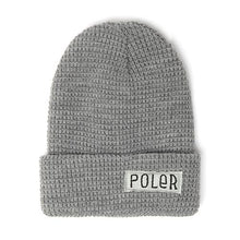 POLER WORKERMAN BEANIE // LIGHT HEATHER GREY-The Collateral