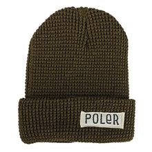 POLER WORKERMAN BEANIE // OLIVE-The Collateral