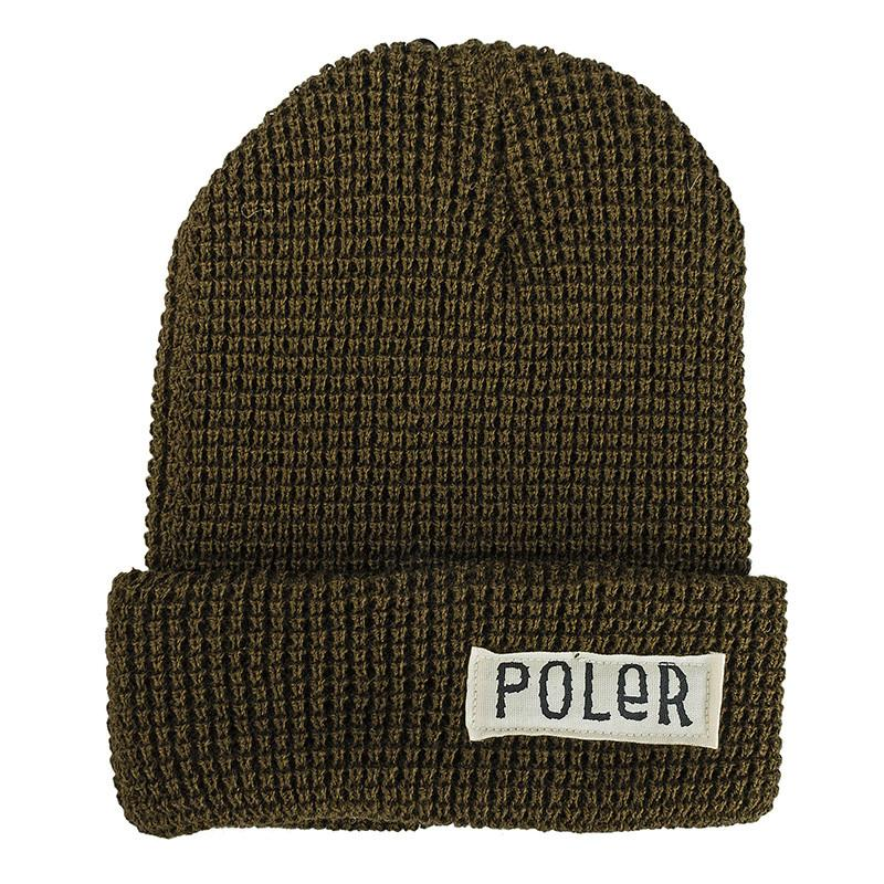 d6859d43f2c POLER WORKERMAN BEANIE    OLIVE-The Collateral