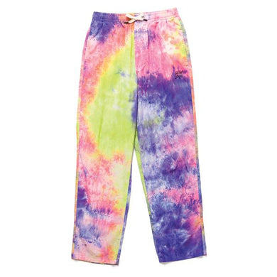 THE QUIET LIFE NEON TIE DYE BEACH PANT // TIE DYE