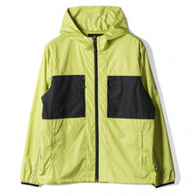 STUSSY 3M NYLON PANELED JACKET // LIME