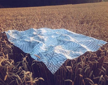 SCHÖNSTAUB GRID Beach Towel-The Collateral