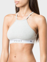 STÜSSY BASIC HIGH NECK CROP // GREY MARLE-The Collateral