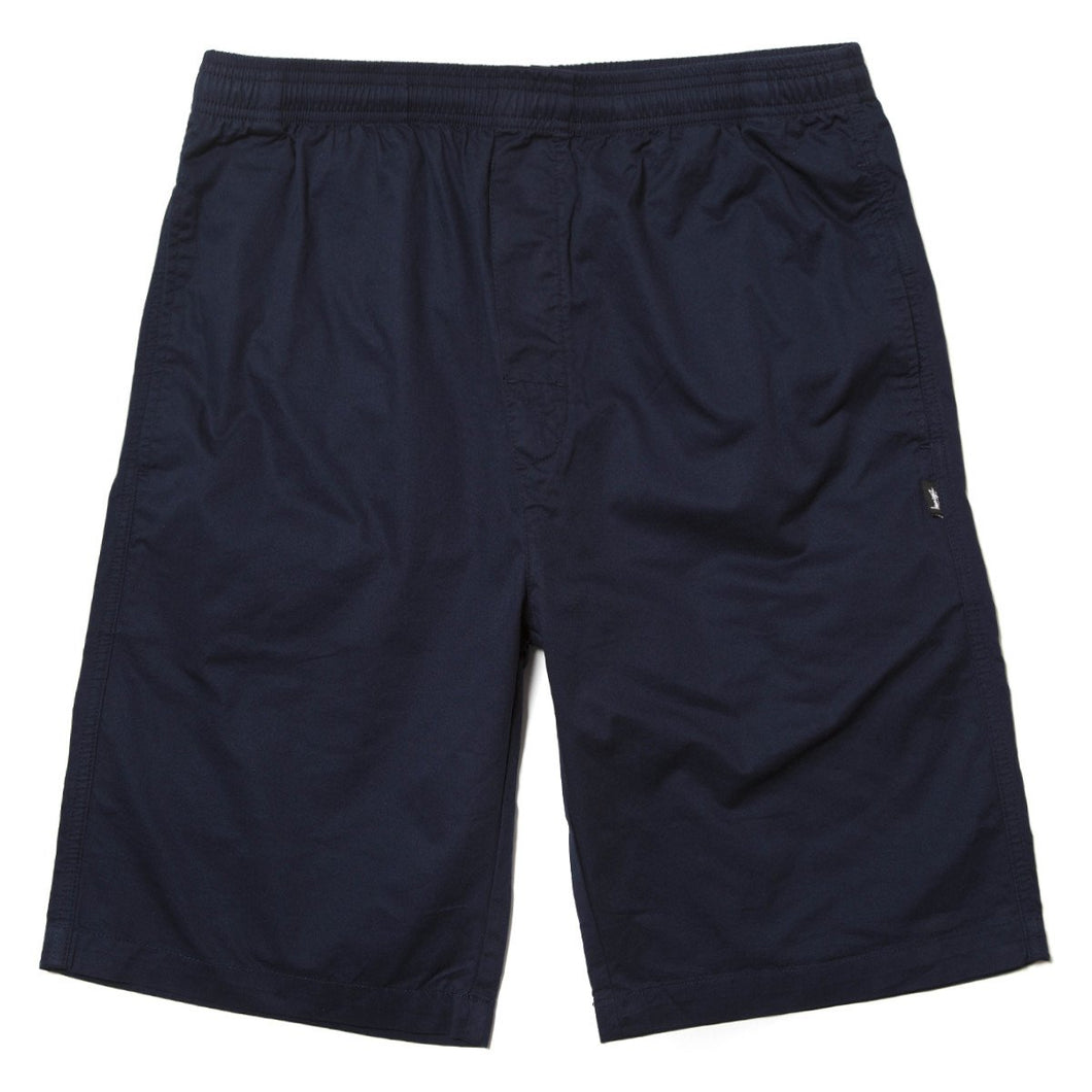 STUSSY LIGHT TWILL BEACH SHORT // NAVY-The Collateral