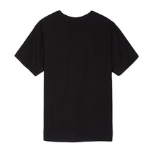 STUSSY LOGO STAMP TEE // BLACK-The Collateral