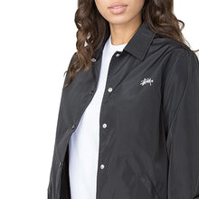STUSSY NEWTON COACH JACKET // BLACK-The Collateral