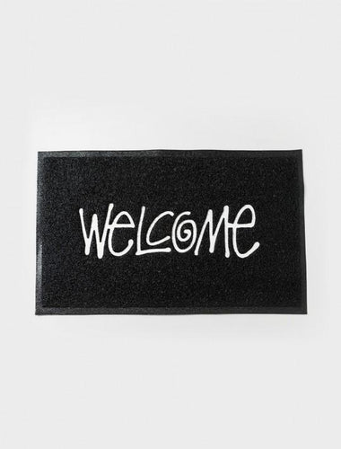 STUSSY PVC WELCOME MAT // BLACK-The Collateral
