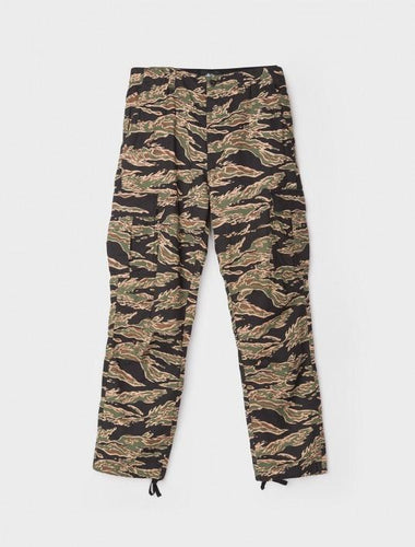 STÜSSY SEERSUCKER CARGO PANT // CAMO-The Collateral