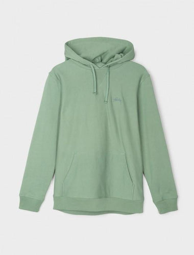 STUSSY STOCK LOGO HOOD // GREEN-The Collateral