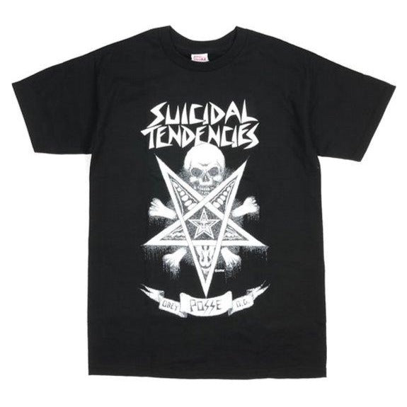 OBEY X SUICIDAL TENDENCIES POSSESSED TEE // BLACK