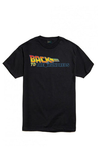 THE HUNDREDS BACK TO THE HUNDREDS T-SHIRT // BLACK-The Collateral