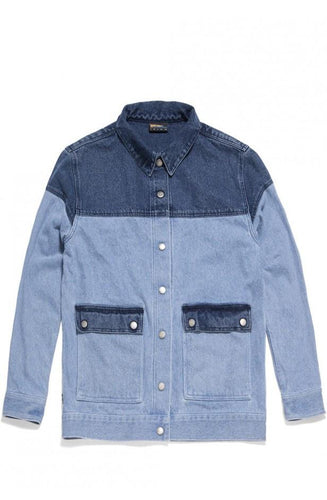 THE HUNDREDS MARTY JACKET // INDIGO-The Collateral