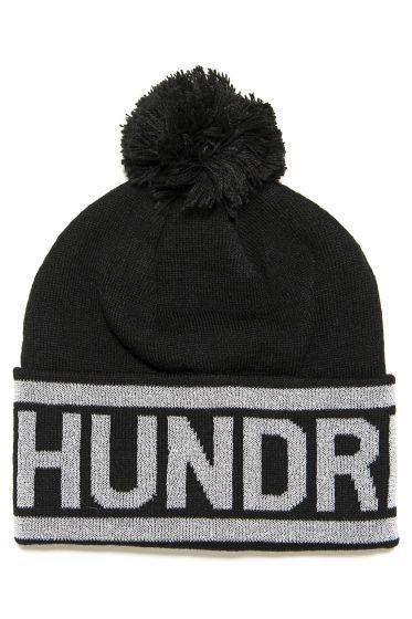 THE HUNDREDS RAP BEANIE // BLACK-The Collateral