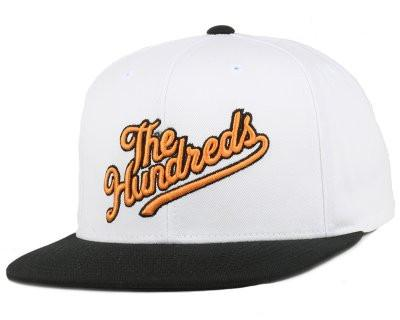 THE HUNDREDS SLANT TAIL SNAPBACK // WHITE-The Collateral
