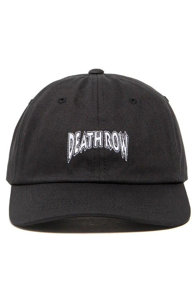 8f2f573cc08e5 THE HUNDREDS X DEATH ROW DAD HAT    BLACK – Collateral