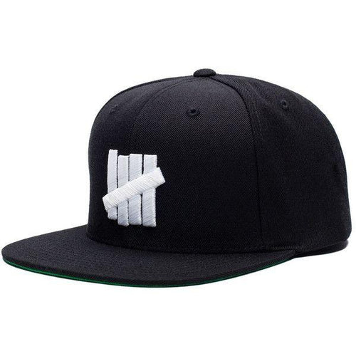 UNDEFEATED 5 STRIKE CAP // BLACK-The Collateral