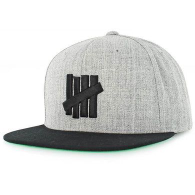 UNDEFEATED 5 STRIKE CAP // GREY HEATHER-The Collateral