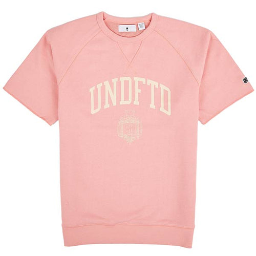 UNDEFEATED COLLEGE S/SL CREWNECK // CORAL