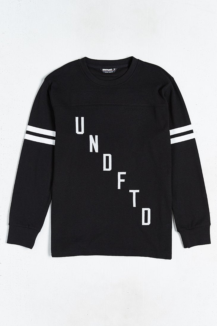 UNDEFEATED FLANKER L/SL TEE // BLACK-The Collateral